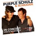 Tourplakat Purple Schulz & Schrader